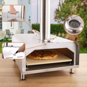 Fremont Wood Fired Pizza Oven
